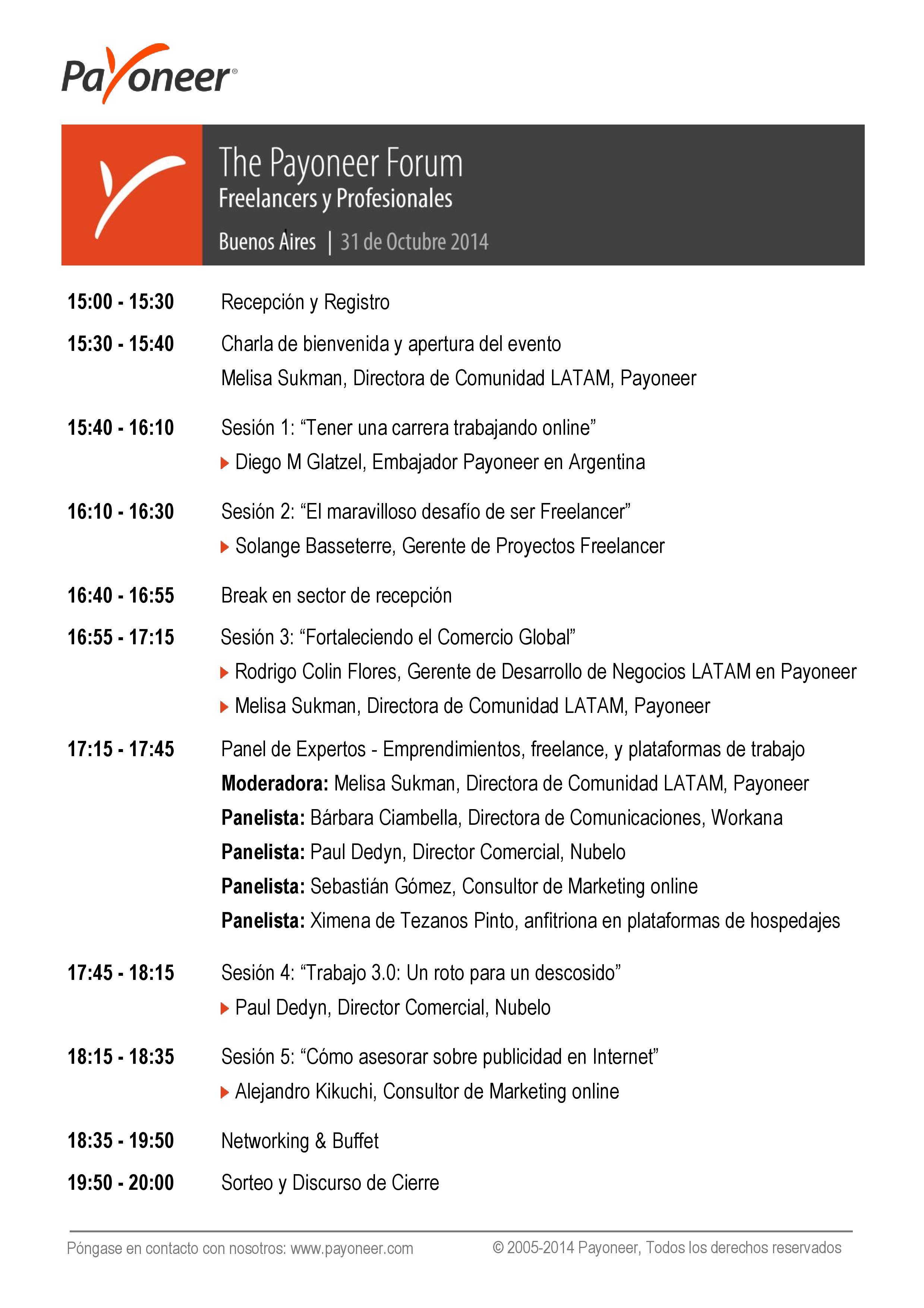 Payoneer Forum Buenos Aires