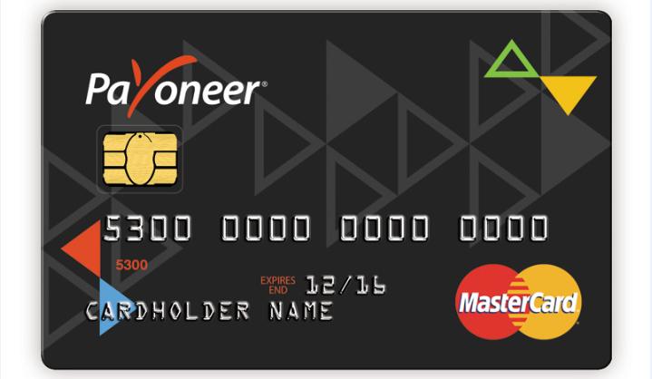 الحصول على بطاقة ماستر كارد من بايونير