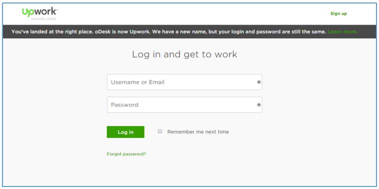 upwork-login