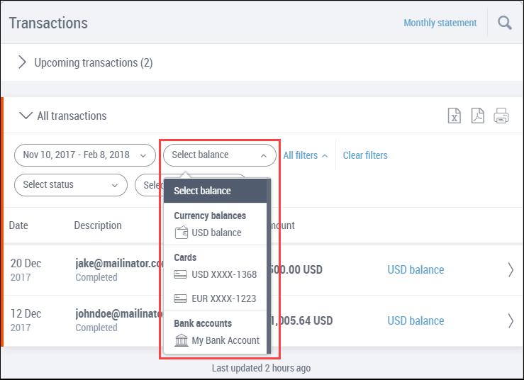 New Way Of Transactions Page Of Payoneer transactions blog 2