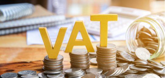 Paying VAT banner