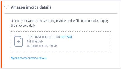 amazon invoice details