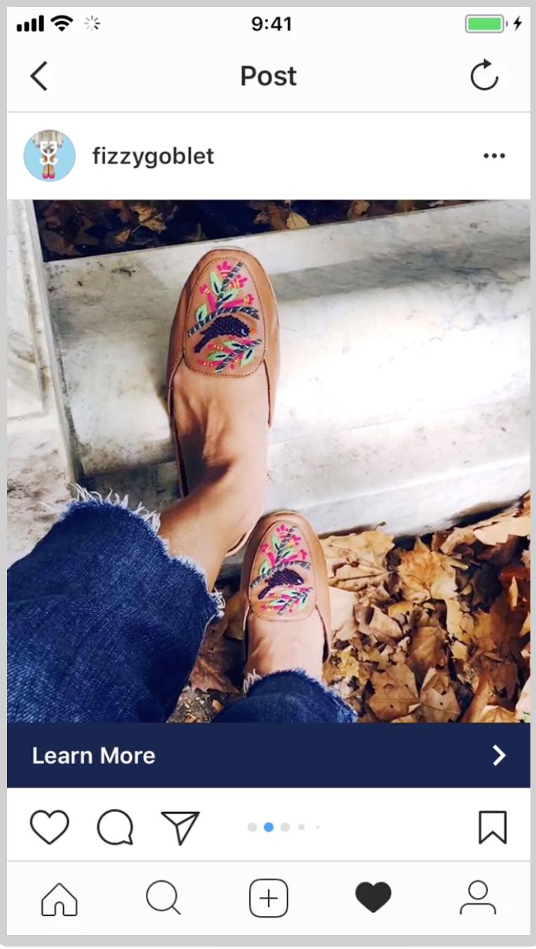 Instagram ads fizzygoblet